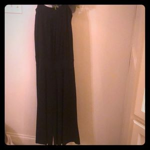 Black gauchos one piece